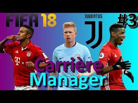 FIFA 18 - CARRIÈRE MANAGER JUVENTUS - #3 QUEL MILIEU DE TERRAIN CHOISIR ?!