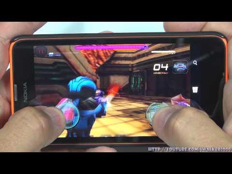 Игры:работа StarsWars,ModernCombat5,RivalKnights,WorldatArms,100balls,2048 на Nokia Lumia 630