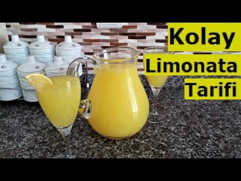 Limonata Tarifi | 2 portakal 2 limon | Lezzetin Üstadı