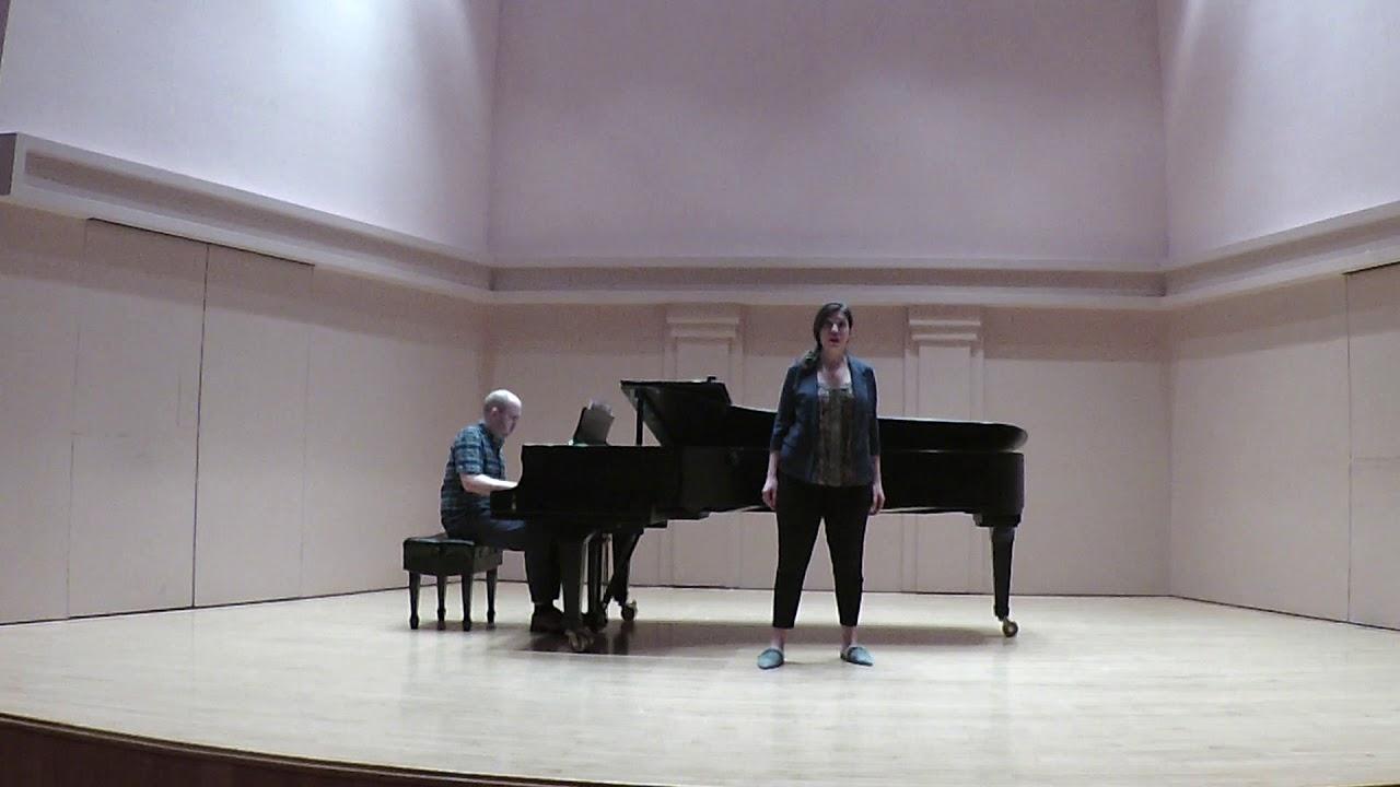 Treu beratner Verträge Runen from Wagner's Gotterdämmerung -Stephanie Sanchez, mezzo soprano