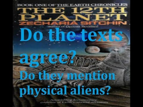 Thinking About The 12Th Planet By Zecharia Sitchin or Book One of The Earth Chronicles