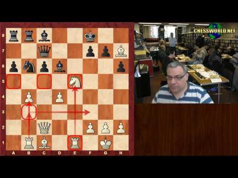 Shakhriyar Mamedyarov vs Michael Adams : FIDE Grand Prix Moscow (2017)  ·  Nimzo-Indian Defense
