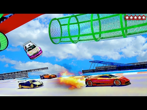 99% OF YOU WILL MISS OUT! - GTA 5 FLASHING FIVE COURSE - GTA V Funny Moments & FAILS