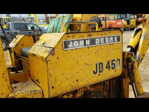 Repeat John Deere 450 Tracked Crawler Loader For Sale w