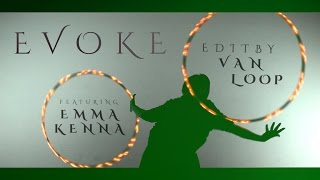 Hula hoop featuring Emma Kenna & Astral 'Evoke' Hoops