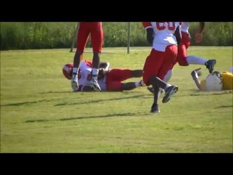 2015 Week 1 🏈Mckee at Johnny Carr highlights Final Score 30-0