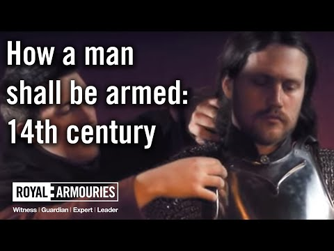 How A Man Shall Be Armed: 14th Century
