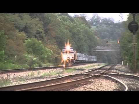 South Fork Pennsylvania - Norfolk Southern Empty Rail Train