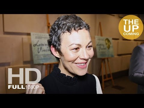 Loving Vincent premiere at National Gallery: Helen McCrory  for London Film Festival
