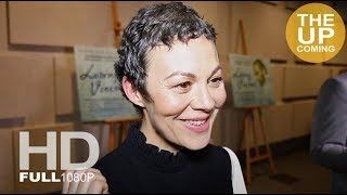 Loving Vincent Premiere At National Gallery: Helen McCrory Interview For London Film Festival