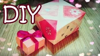 How To Make A Simple Origami Gift Box - Diy Gift Box In 2 Minutes