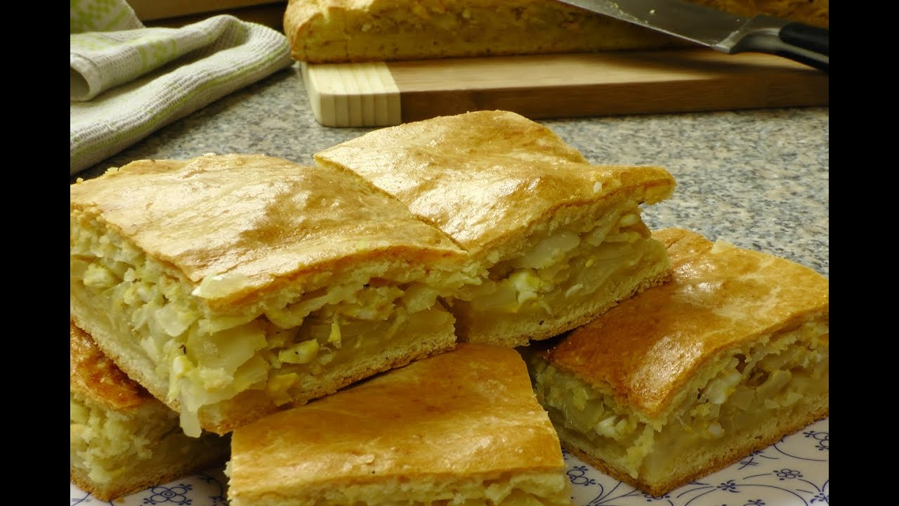 пирог с капустой и яйцом рецепт с фото пошагово