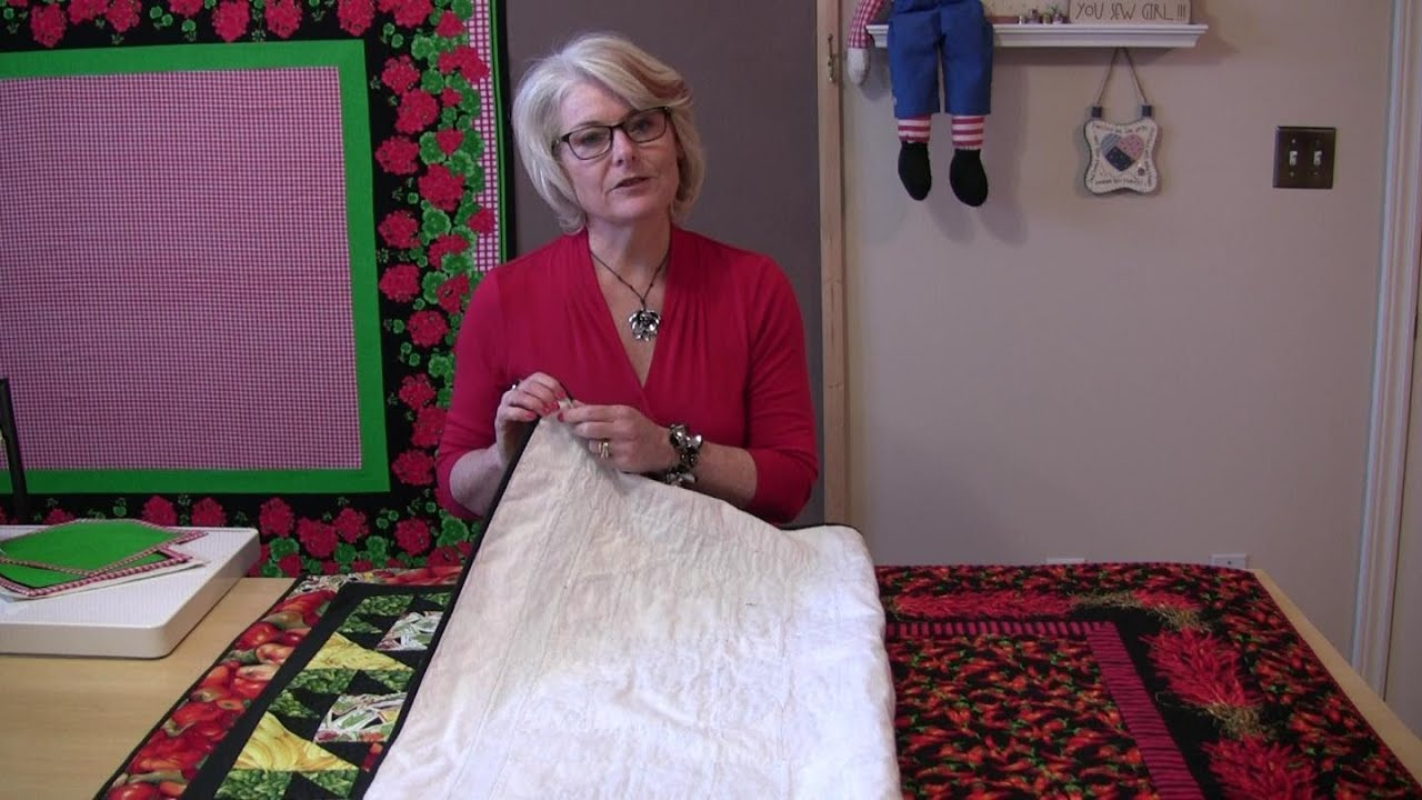 Quilted Tablecloths   YouTube