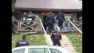 BN: Rušenje objekata na Jahorini 02.09.2013.