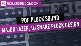 MASSIVE Tutorial: Pop Pluck Sound (Major Lazer, DJ Snake Pluck Sound Design)