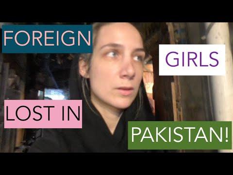 VLOG | WESTERN GIRLS WALKING IN PAKISTAN, Lahore [getting Lost]