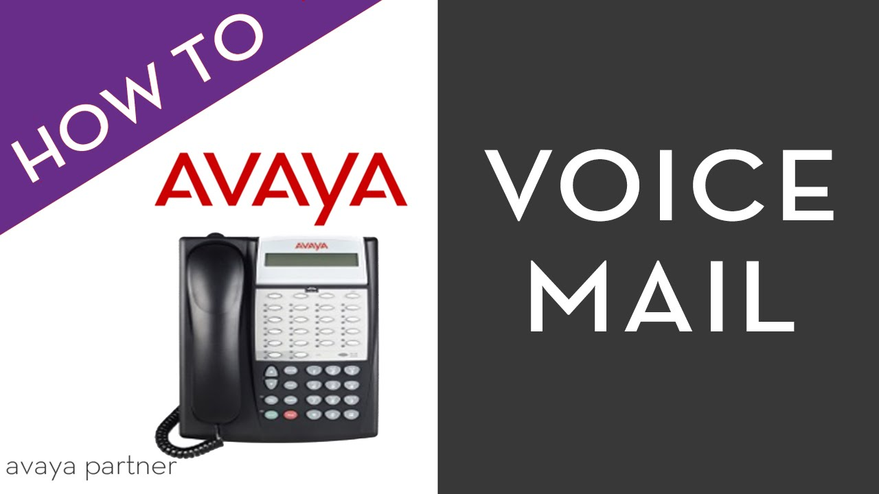 avaya partner voice mail youtube rh youtube com Avaya Telephone Partner 18D Manual PDF