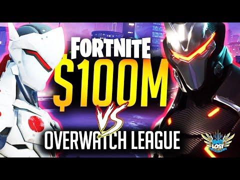 Fortnite $100 MILLION Prize Pool vs Overwatch League