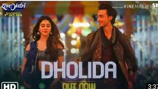 New Dholida song......  new movie (LOVEYATRI)   Song by neha kakkar and udit narayan