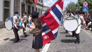 Entrada da Fanfarra dos Escuteiros de Ronfe-Guimarães | Festas da Cidade de Penafiel 2016