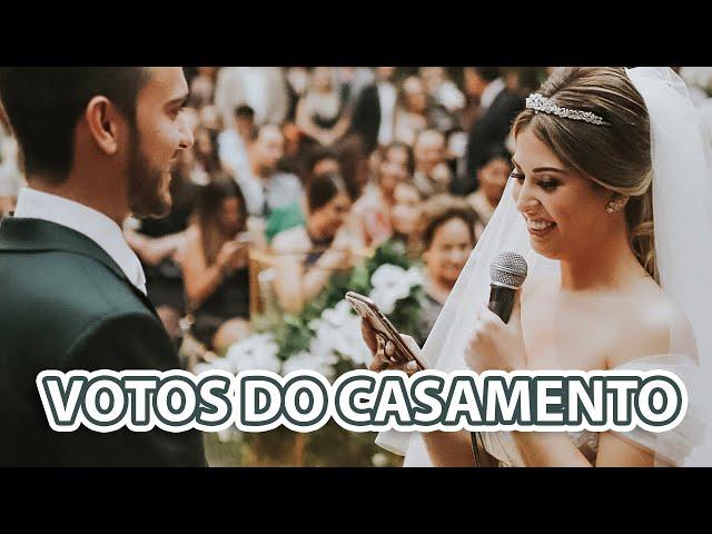 Os Votos de Casamento Mais Emocionantes - Fabi Santina e Leandro