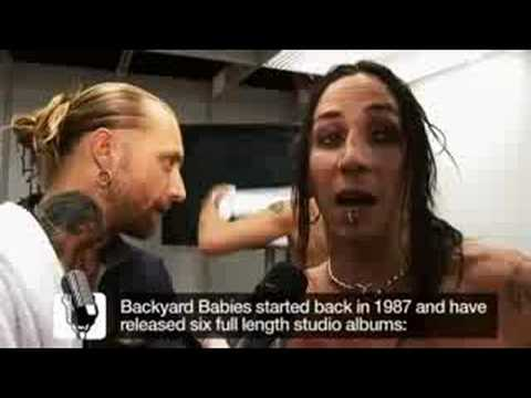 GC08 Guitar Hero: WT Special - Backyard Babies Interview by Gamereactor