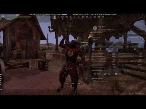 (ger) The Elder Scrolls Online - Nachtklinge DD SetUp - Stamina PvE