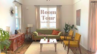 【ルームツアー】レトロで温かみのあるヴィンテージモダンスタイル | DIY・ アメリカ | 3LDK | room tour