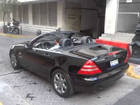 mercedes clase slk 1998 slk 230 kompressor youtube. Black Bedroom Furniture Sets. Home Design Ideas