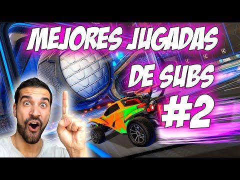 MEJORES GOLES DE SUBS #2 | RECOPILACIÓN ROCKET LEAGUE thumbnail