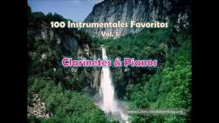 100 Instrumentales Favoritos vol  1 - 072 Clarinetes & Pianos