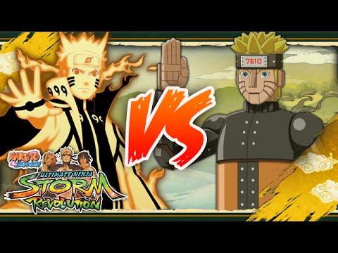 [PC] NARUTO SHIPPUDEN: Ultimate Ninja STORM REVOLUTION | Bijuu Naruto VS Mecha Naruto |