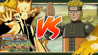 [PC] NARUTO SHIPPUDEN: Ultimate Ninja STORM REVOLUTION | Bijuu Naruto VS Mecha Naruto
