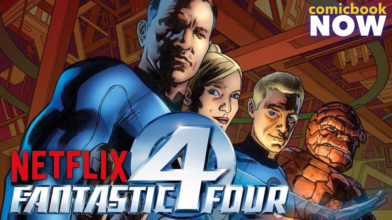 Fantastic Four Teased in the Netflix MCU