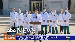 Trump's physician gives update from Walter Reed | ABC News