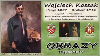 Wojciech Kossak - Portrety