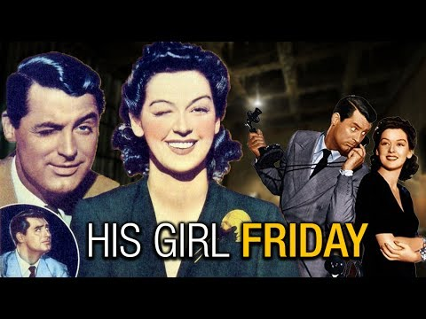 His Girl Friday Hollywood Comedy Movie Full | Cary Grant,Rosalind Russell | English Classic Movies