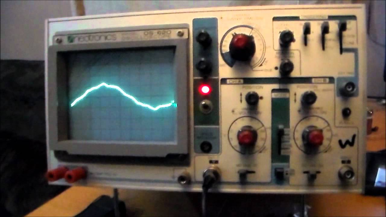 new toy neotronics os 620 oscilloscope sinewave problem corrected rh youtube com Tenma Auto 33-050 Antenea TV tenma 72-320 oscilloscope manual