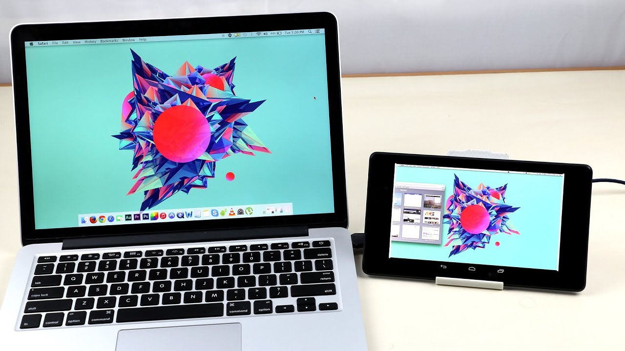 How to use your phone tablet as a secondary display for pc or laptop youtube - Six uses old tablet ...