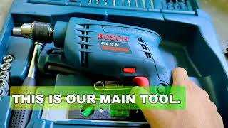Bosch GSB10RE REVIEW