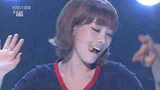 SNSD (소녀시대) with Tiffany - Hoot (훗) live @ the \\\x22G20 Road to Hope Concert\\\x22 HD 101106