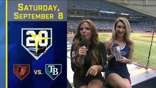 Rays host welcome