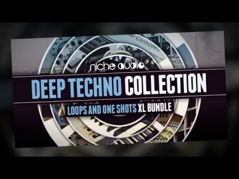 Deep Techno Collection - Maschine Expansions & Royalty Free Techno Samples - By Niche Audio