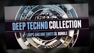 Deep Techno Collection - Maschine Expansions Royalty Free Techno Samples - By Niche Audio
