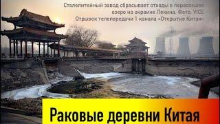 Раковые деревни Китая (по материалам передачи 1 канала)