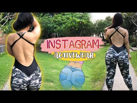 TESTING INSTAGRAM ACTIVE WEAR / GYM CLOTHES