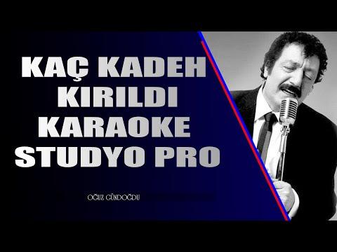 Kaç Kadeh Kırıldı Karaoke Pro (Arabesk Karaoke) 2020 indir