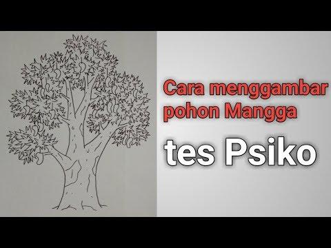 Cara Menggambar Pohon Mangga Tes Psiko Youtube