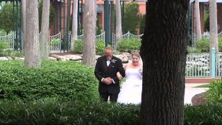 danielle mikes wedding at disneys swan and dolphin resort in orlando florida