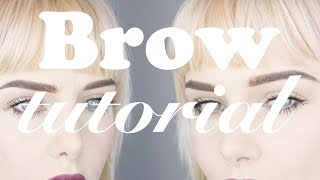 Brow Tutorial : How I do my brows